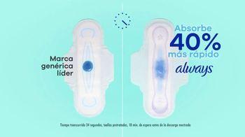 Always Ultra Thin TV Spot, 'Absorbe más rápido' [Spanish] - Thumbnail 5