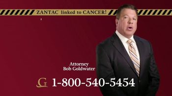 Goldwater Law Firm TV Spot, 'Daily Zantac Users' - Thumbnail 3