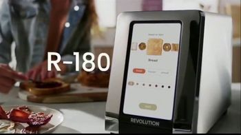 Revolution Cooking R180 Toaster TV Spot, 'High Speed Smart Toaster'