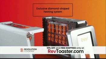 Revolution Cooking R180 Toaster TV Spot, 'High Speed Smart Toaster' - Thumbnail 2