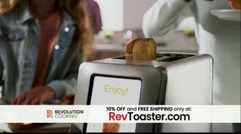 Revolution Cooking R180 Toaster TV Spot, 'High Speed Smart Toaster' - Thumbnail 6