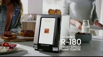 Revolution Cooking R180 Toaster TV Spot, 'High Speed Smart Toaster' - Thumbnail 7
