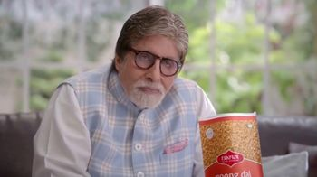 Bikaji Moon Dal TV Spot, 'Amitji Loves Bikaji: Moong Dal' Featuring Amitabh Bachchan