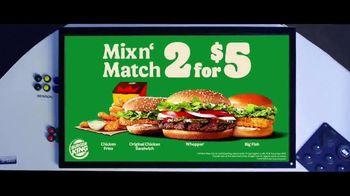 Burger King 2 for $5 TV Spot, 'Paramount Network: Bellator MMA' - Thumbnail 9