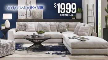 Rooms to Go Labor Day Sale TV Spot, 'Cindy Crawford Sectional' - Thumbnail 7