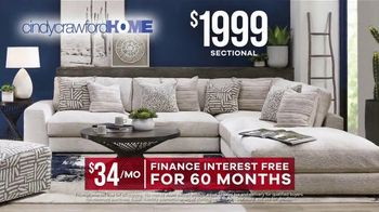 Rooms to Go Labor Day Sale TV Spot, 'Cindy Crawford Sectional' - Thumbnail 8
