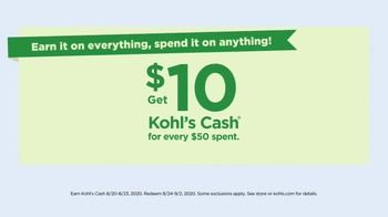 Kohl's Friends + Family Sale TV Spot, 'Shoes, Tees and Bed Sheets' - Thumbnail 9