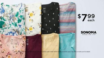 Kohl's Friends + Family Sale TV Spot, 'Shoes, Tees and Bed Sheets' - Thumbnail 3