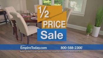 Empire Today Half Price Sale TV Spot, 'Huge Savings'