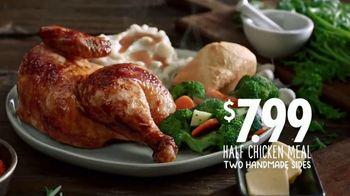 Boston Market Half Chicken Meal TV Spot, 'For Chicken' - Thumbnail 10