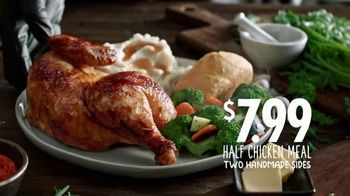 Boston Market Half Chicken Meal TV Spot, 'For Chicken' - Thumbnail 9