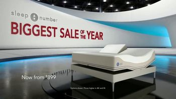 Sleep Number Biggest Sale of the Year TV Spot, 'Snoring: Save 50%' - Thumbnail 1
