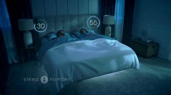 Sleep Number Biggest Sale of the Year TV Spot, 'Snoring: Save 50%' - Thumbnail 2