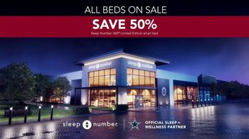 Sleep Number Biggest Sale of the Year TV Spot, 'Snoring: Save 50%' - Thumbnail 7