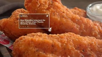 Jack in the Box Spicy Chicken Strips Combo TV Spot, 'De vuelta' [Spanish] - Thumbnail 2