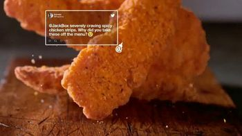 Jack in the Box Spicy Chicken Strips Combo TV Spot, 'De vuelta' [Spanish] - Thumbnail 3