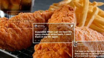 Jack in the Box Spicy Chicken Strips Combo TV Spot, 'De vuelta' [Spanish] - Thumbnail 6