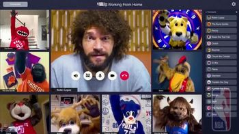 NBA App TV Spot, 'Working From Home' Featuring Robin Lopez - Thumbnail 10