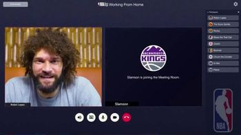 NBA App TV Spot, 'Working From Home' Featuring Robin Lopez