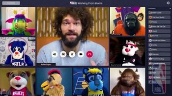 NBA App TV Spot, 'Working From Home' Featuring Robin Lopez - Thumbnail 5