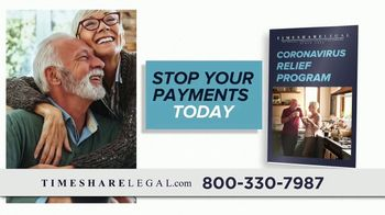 Timeshare Legal TV Spot, 'Coronavirus Relief Program' - Thumbnail 6
