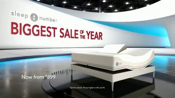 Sleep Number Biggest Sale of the Year TV Spot, 'Save 50%' - Thumbnail 1