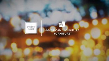 American Signature Furniture Happy Labor Day Sale TV Spot, 'The Styles You Want' - Thumbnail 1