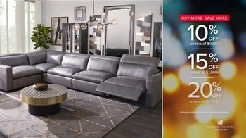 American Signature Furniture Happy Labor Day Sale TV Spot, 'The Styles You Want'
