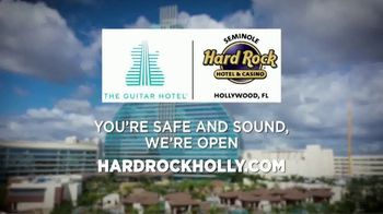 Hard Rock Hollywood TV Spot, 'You're Safe and Sound' - Thumbnail 9