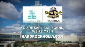 Hard Rock Hollywood TV Spot, 'You're Safe and Sound' - Thumbnail 8