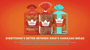King's Hawaiian Lunchbox Reaction Contest TV Spot, 'Win a $25,000 Scholarship for Your Child' - Thumbnail 3