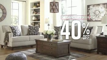Ashley HomeStore Labor Day Preview Sale TV Spot, 'Early Access: 40% Off' - Thumbnail 5