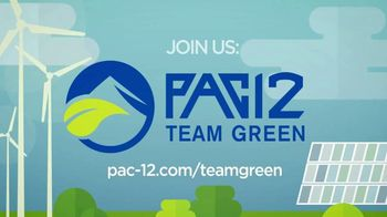 Pac-12 Conference TV Spot, 'Team Green: University of Arizona' - Thumbnail 9