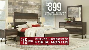 Rooms to Go Labor Day Sale TV Spot, 'Stylish Bedroom Set' - Thumbnail 6