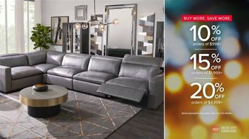 Value City Furniture Happy Labor Day Sale TV Spot, 'Doorbusters: Free Ottoman'