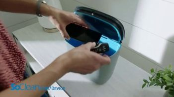 SoClean Device Disinfector TV Spot, 'Activated Oxygen Technology' - Thumbnail 2