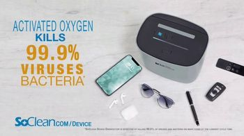 SoClean Device Disinfector TV Spot, 'Activated Oxygen Technology' - Thumbnail 4
