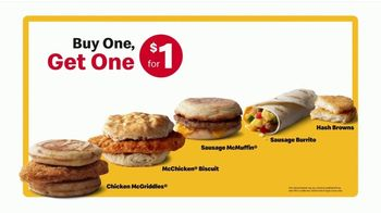 McDonald's Breakfast TV Spot, 'Morning Person: Buy One, Get One for $1' - Thumbnail 5