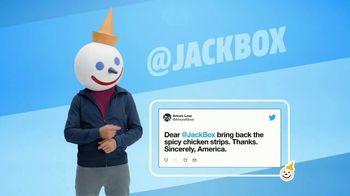 Jack in the Box Spicy Chicken Strips Combo TV Spot, 'Twitter estalló' [Spanish] - Thumbnail 1