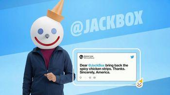 Jack in the Box Spicy Chicken Strips Combo TV Spot, 'Twitter estalló' [Spanish] - Thumbnail 3