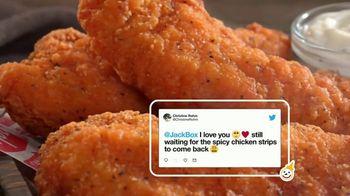 Jack in the Box Spicy Chicken Strips Combo TV Spot, 'Twitter estalló' [Spanish] - Thumbnail 4
