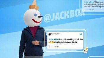 Jack in the Box Spicy Chicken Strips Combo TV Spot, 'Twitter estalló' [Spanish] - Thumbnail 5