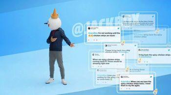 Jack in the Box Spicy Chicken Strips Combo TV Spot, 'Twitter estalló' [Spanish] - Thumbnail 6