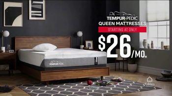 Ashley HomeStore Labor Day Mattress Sale TV Spot, 'Shop TEMPUR-Pedic' - Thumbnail 4