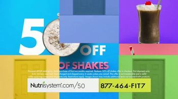 Nutrisystem Personal Plans TV Spot, 'Built For Your Body: Save 50% + Shakes' - Thumbnail 7