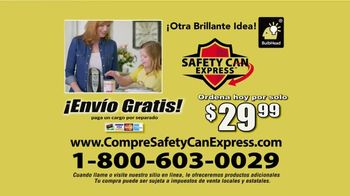 Safety Can Express TV Spot, 'Bordes suaves' [Spanish] - Thumbnail 8