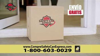 Safety Can Express TV Spot, 'Bordes suaves' [Spanish] - Thumbnail 7