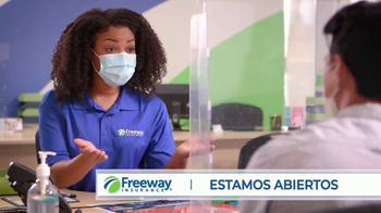 Freeway Insurance TV Spot, 'Estamos abiertos' [Spanish] - Thumbnail 1