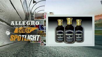 Allegro Marinade TV Spot, 'Spotlight: Brisket & Fajita Sauce'