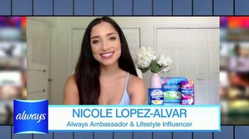 Always TV Spot, 'End Period Poverty: $2 Off' Featuring Nicole Lopez-Alvar